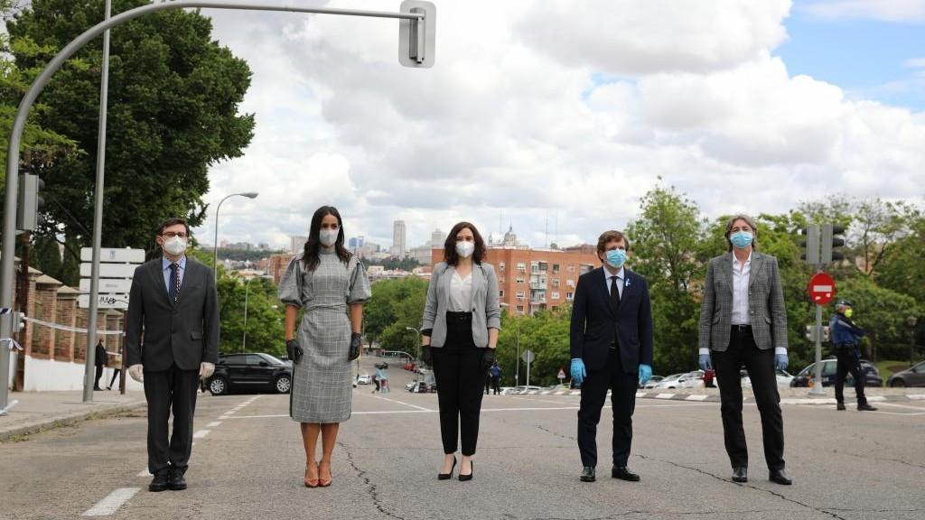 Rebrote en Madrid Capital de coronavirus localizado en un entorno laboral