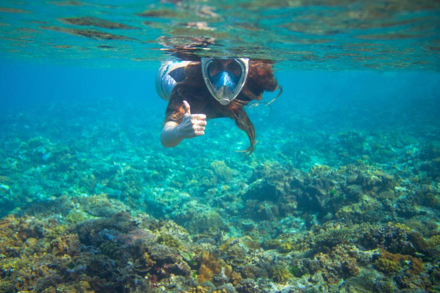 La máscara de buceo que triunfa en Amazon: te permite respirar de forma natural bajo el agua, es panorámica y cuesta 23 euros