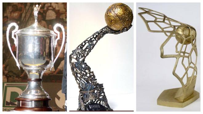Los trofeos de la Champions League: hasta 2009, el de la última...