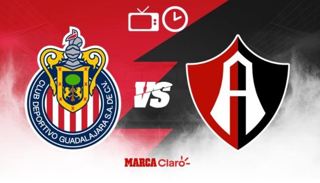 Guadalajara vs Atlas: Horarioy dónde ver en vivo.