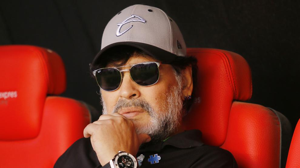Diego Maradona está en un estricto programa para mejorar su salud