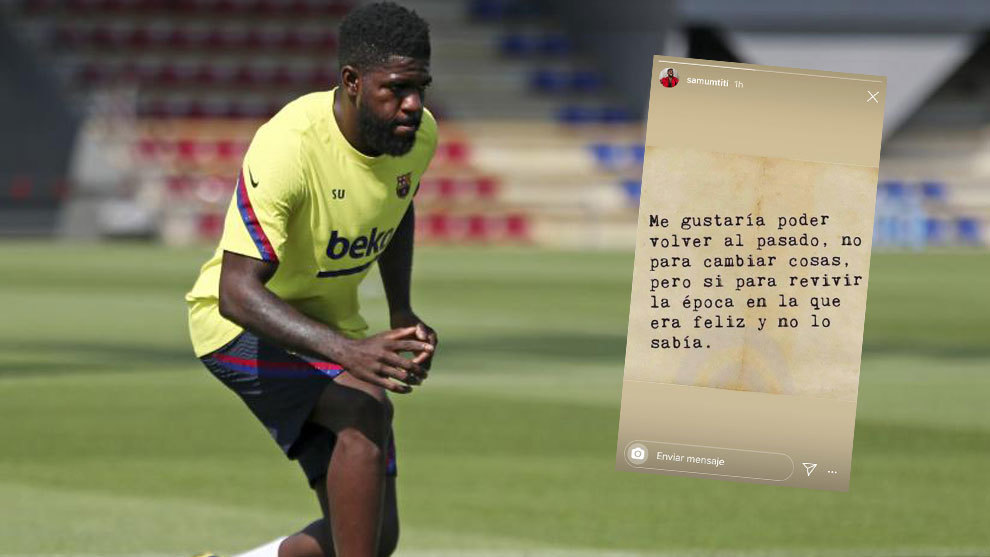 Umtiti: I'd like to go back to when I was happy and didn't know it