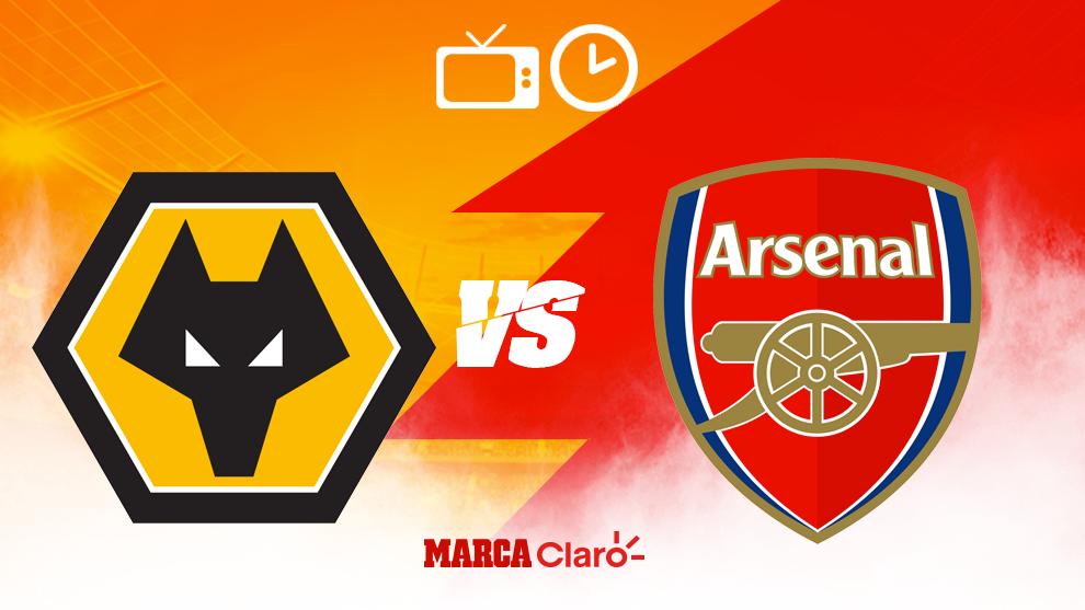 Horario y dónde ver en vivo el Wolves vs Arsenal de la Premier...