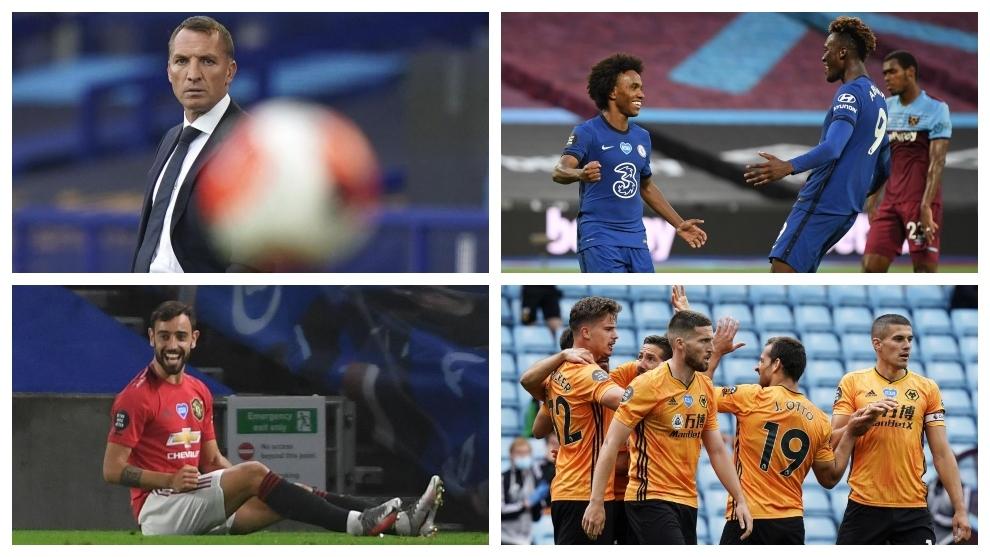 Leicester, Chelsea, United y Wolves quieren la Champions.