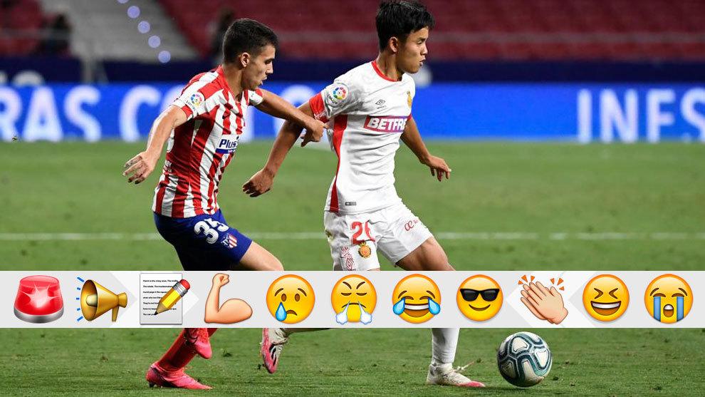 A este Atlético le vendría de lujo el talento de Take Kubo