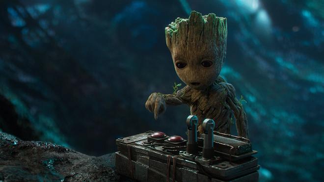Baby Groot es uno de loa favoritos de los fans.