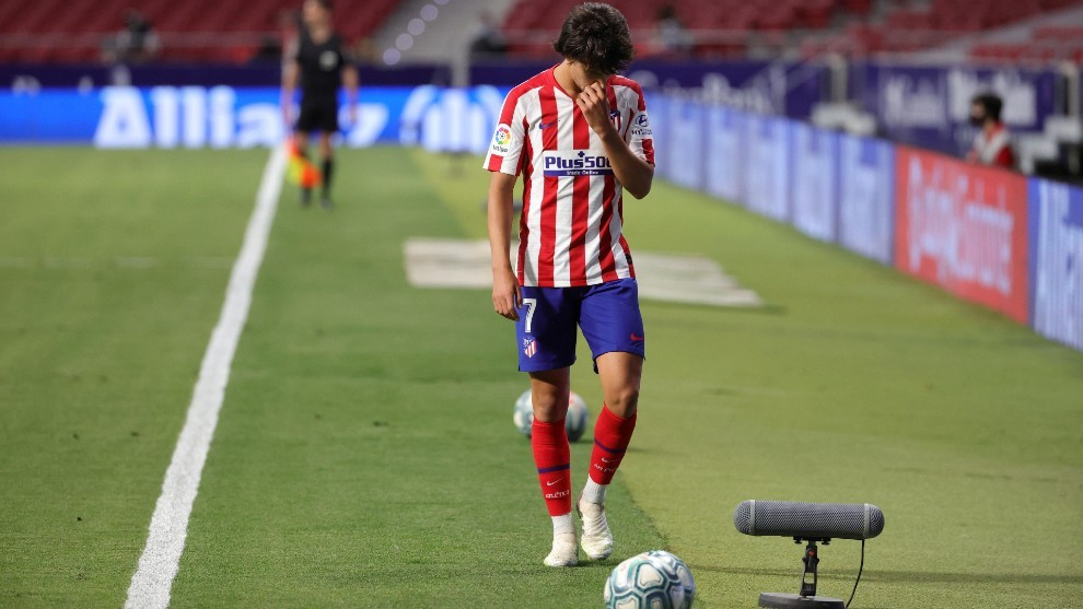 Concerns over Joao Felix's ankle