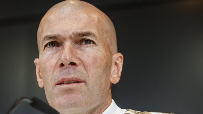 Zidane: There's no euphoria at Real Madrid, only work and commitment
