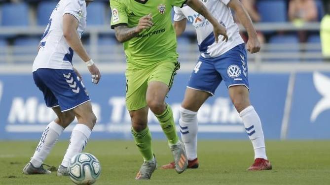 Almería - Tenerife: horario y dónde ver hoy por TV el partido de Liga