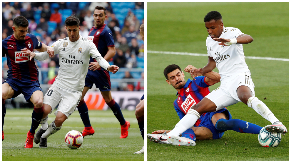Marco Asensio y Rodrygo destacan en la nueva era del Real Madrid.