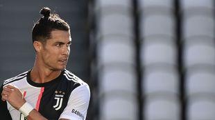 Cristiano, ante el Torino.