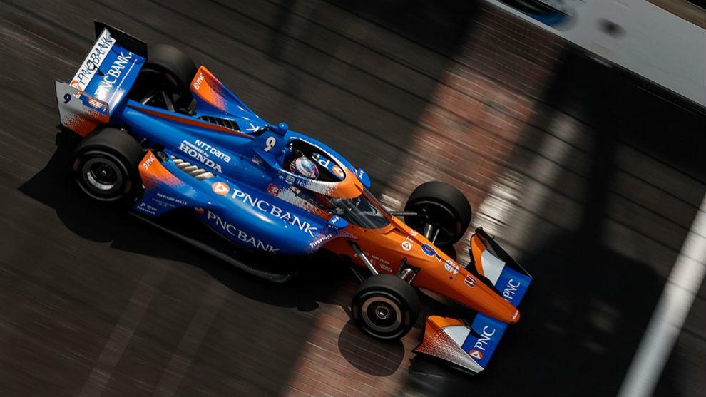 Dixon, ganador del Indy GP, protagoniza un gran inicio de temporada.