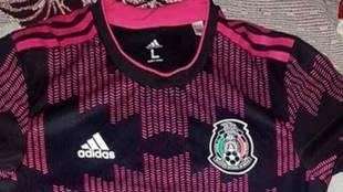 La nueva playera de la selección mexicana de fútbol