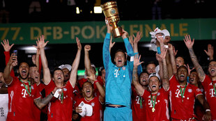 El Bayern ya tiene el doblete... y comienza a soñar con el triplete