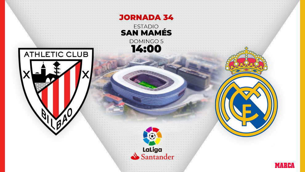 La previa del Athletic - Real Madrid, en directo