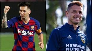 Messi suena para ir al Galaxy con Chicharito.