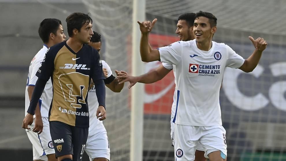 Cruz Azul le gana a Pumas en la Copa por México