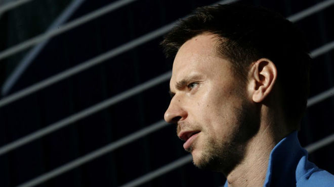 Robin Soderling, exjugador de tenis y actual capitán del equipo sueco...