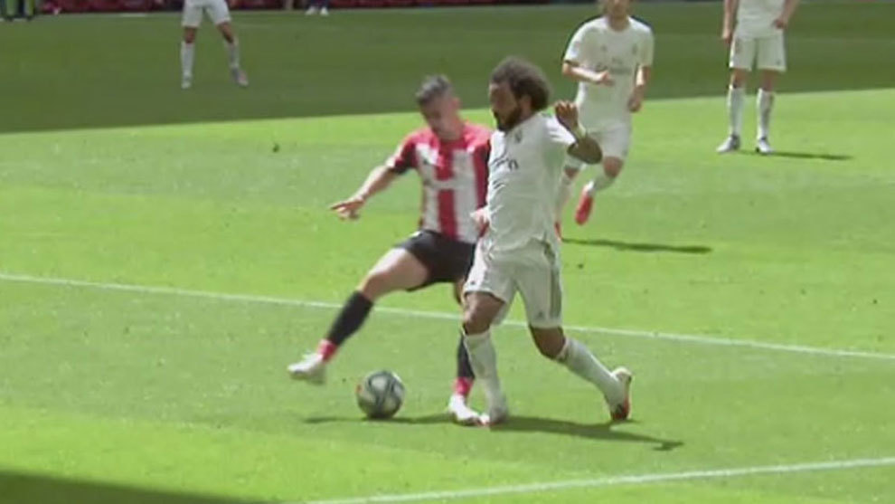 Dani Garcia: If you give one penalty, you have to give the other...