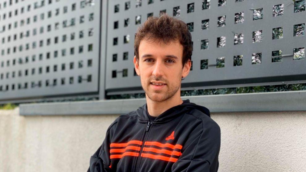 Rubén Pardo, jugador del Girondins de Burdeos.
