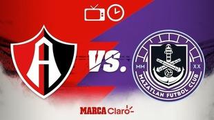 Horario y dónde ver el partido entre Atlas y Mazatlán FC.