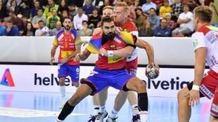 Jorge Maqueda, en una partido contra Noruega de la primera edición de...