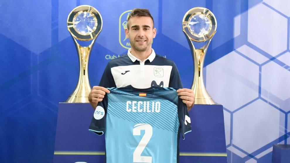 Cecilio Morales, nuevo jugador del Movistar Inter