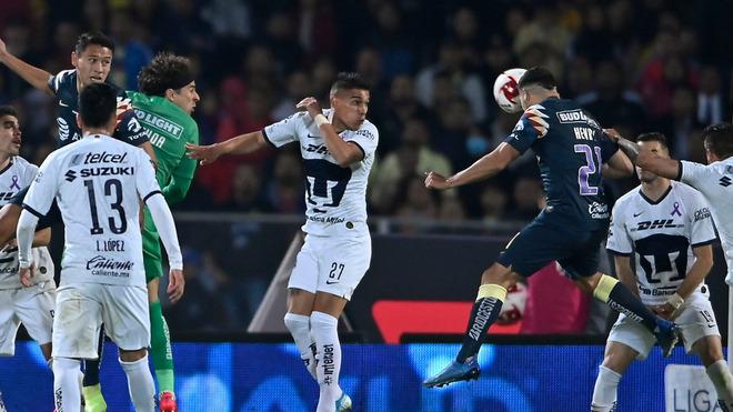 El último duelo entre Pumas y el América.