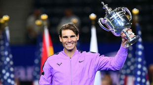 Nadal, con el último trofeo del US Open