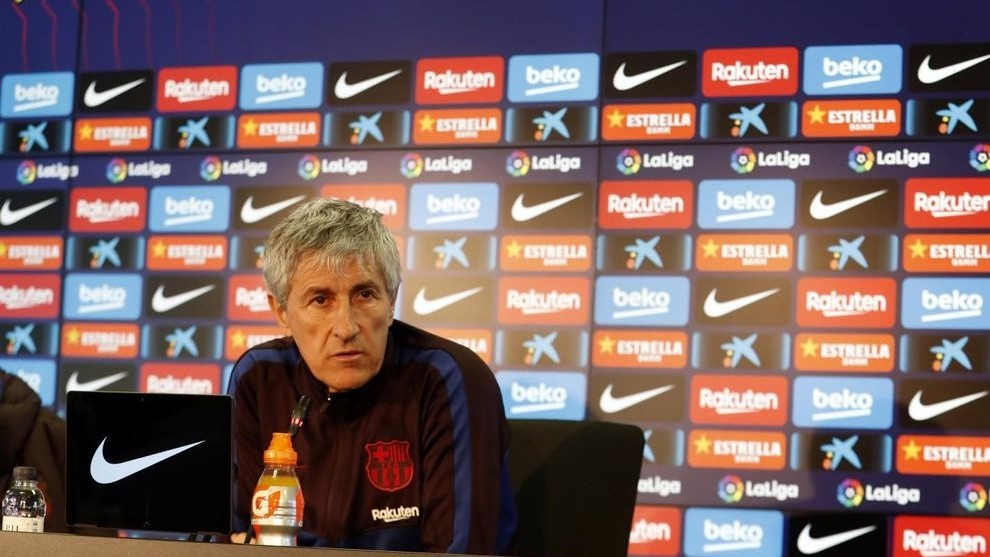 Setien: Of course Barcelona can win LaLiga Santander