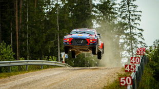 Tänak llevaba sin competir desde marzo con el i20 Coupé WRC.