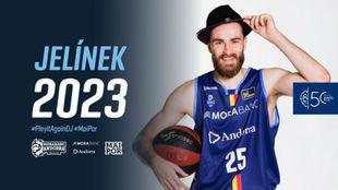 Así anunció el Andorra la renovación de Jelinek