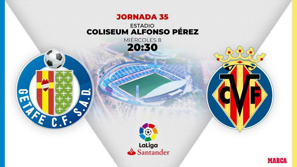 Alineaciones confirmadas del Getafe - Villarreal: Mata solo en punta y Chukwueze acompaña a Gerard