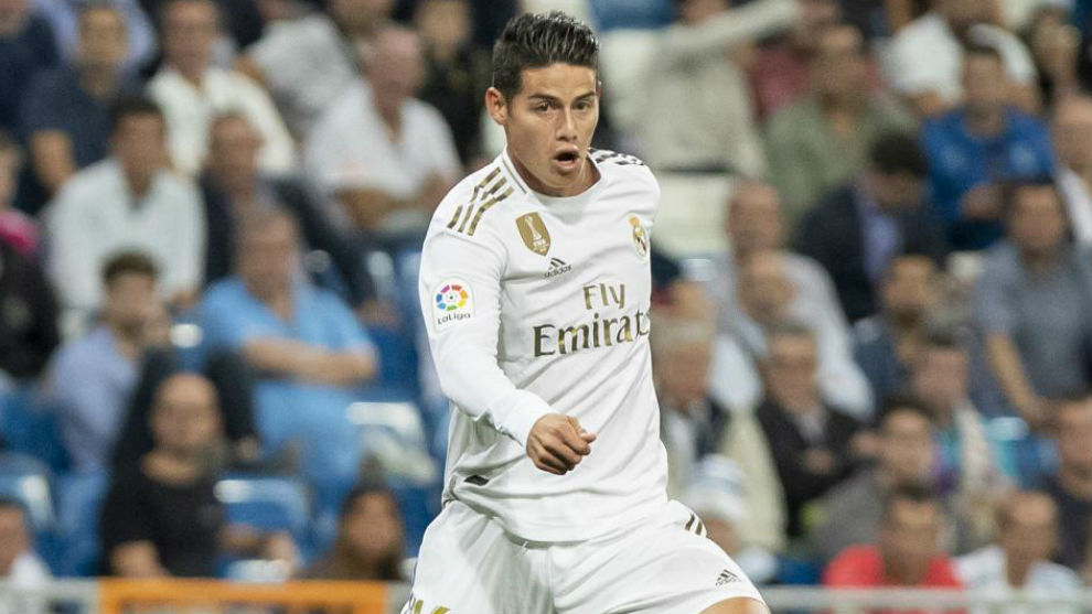 James Rodriguez considering a range of options