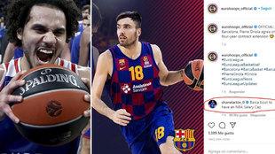 """El irónico mensaje de Larkin sobre el nuevo Barça de basket: """"Deben tener el límite salarial de la NBA"""""""