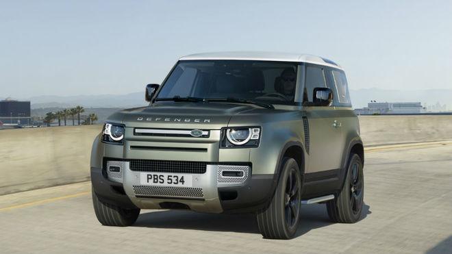 La versión con carrocería 90 del Nuevo Land Rover Defender.
