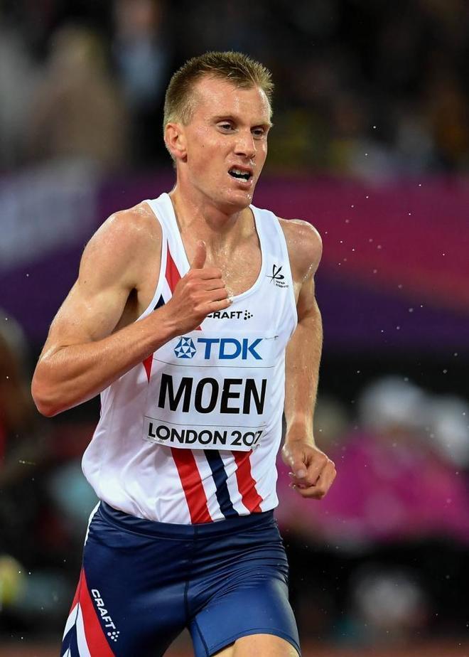 El noruego Sondre Moen.