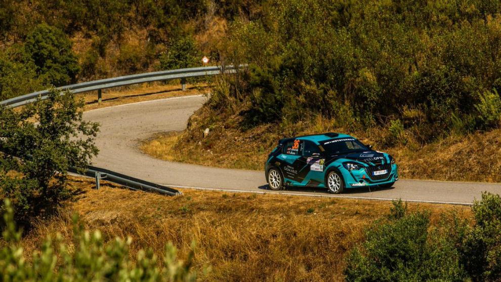 Debut con victoria del nuevo Peugeot 208 Rally 4