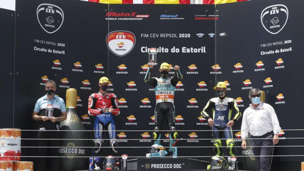 Artigas, Montella y Alonso ganadores del primer FIM CEV Repsol de 2020