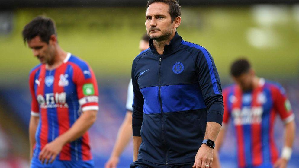 Lampard, entrenador del Chelsea.