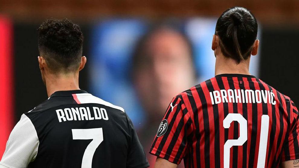 El Milan remonta un 0-2: marcaron Cristiano e Ibra