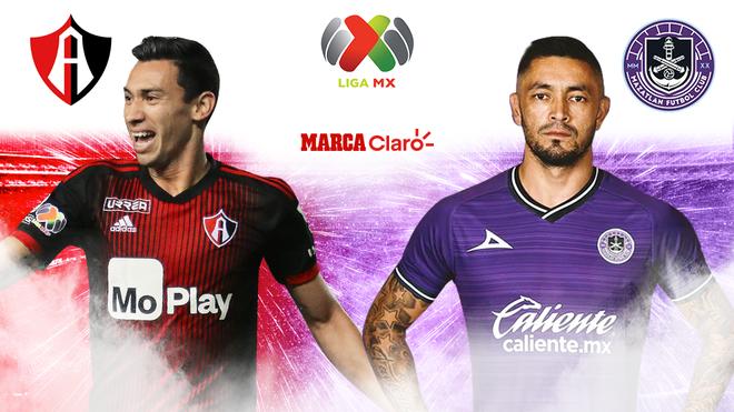 Atlas vs Mazatlán FC en vivo y en directo online; minuto a minuto de...