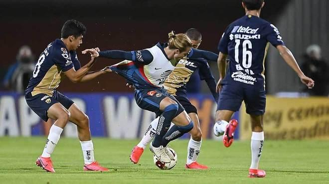 Pumas vs Club América en vivo y en directo online; minuto a minuto de...