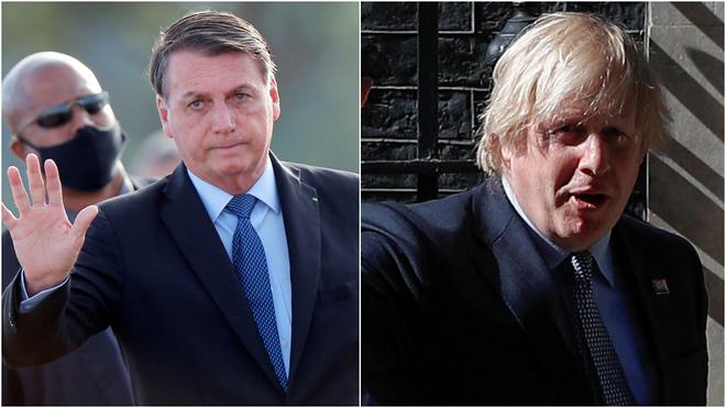 Jair Bolsonaro y otros políticos que se contagiaron de coronavirus...