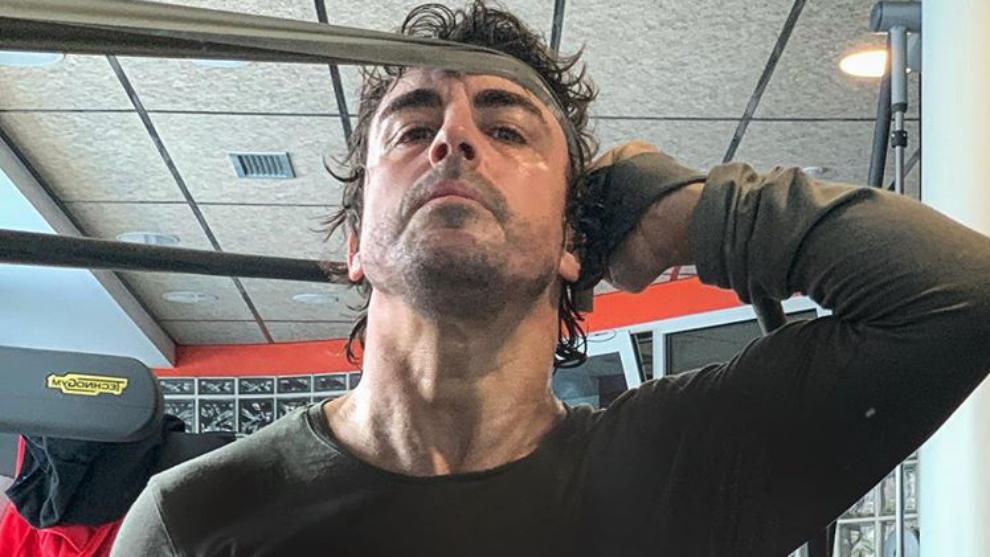 Fernando Alonso se salta la cuarentena