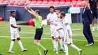 El VAR pita un penalti a favor del Real Madrid en San Mamés