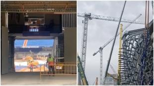 El Bernabéu del futuro ya va cogiendo forma... y tiene una pinta espectacular