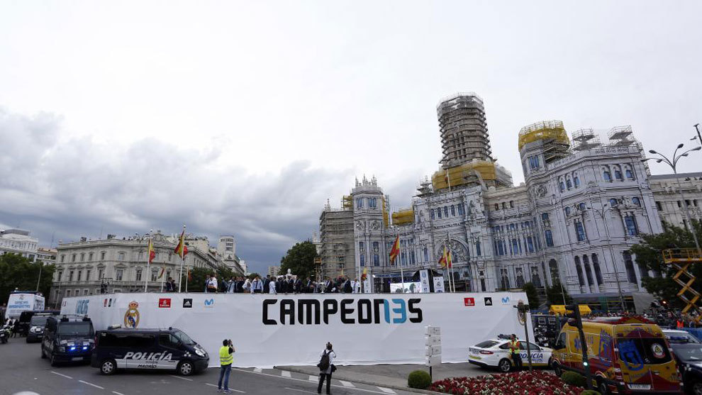 Plans being made for Real Madrid's title celebrations