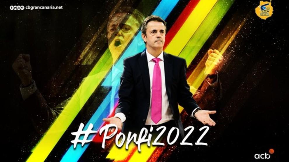 Así dio la bienvenida el Gran Canaria a Fisac en sus redes sociales.
