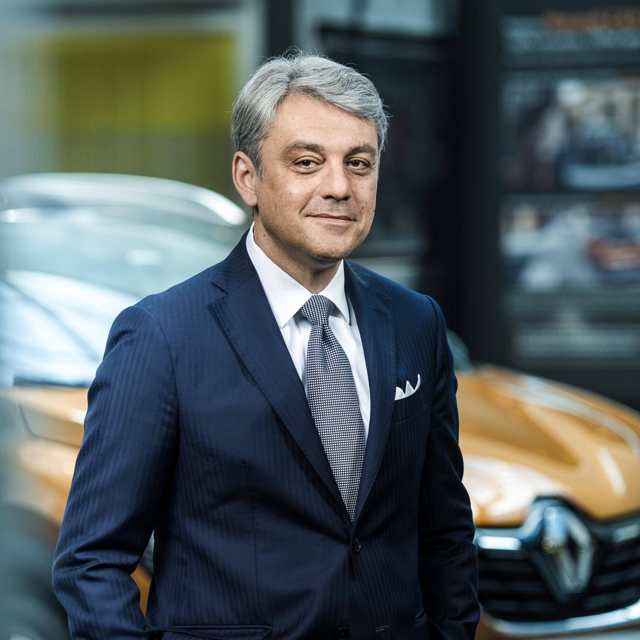 Luca de Meo, nuevo presidente de Renault, es el gran valedor del...